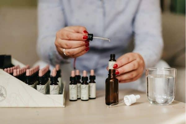 Příprava mixovací lahvičky